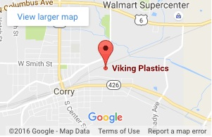 Google Map Location of Viking Plastics