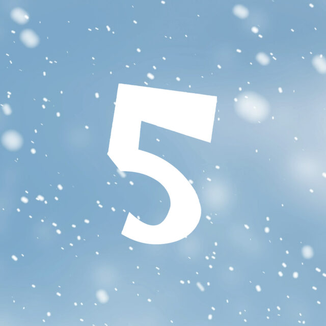 On the 5th day of plastics, Viking made for me…